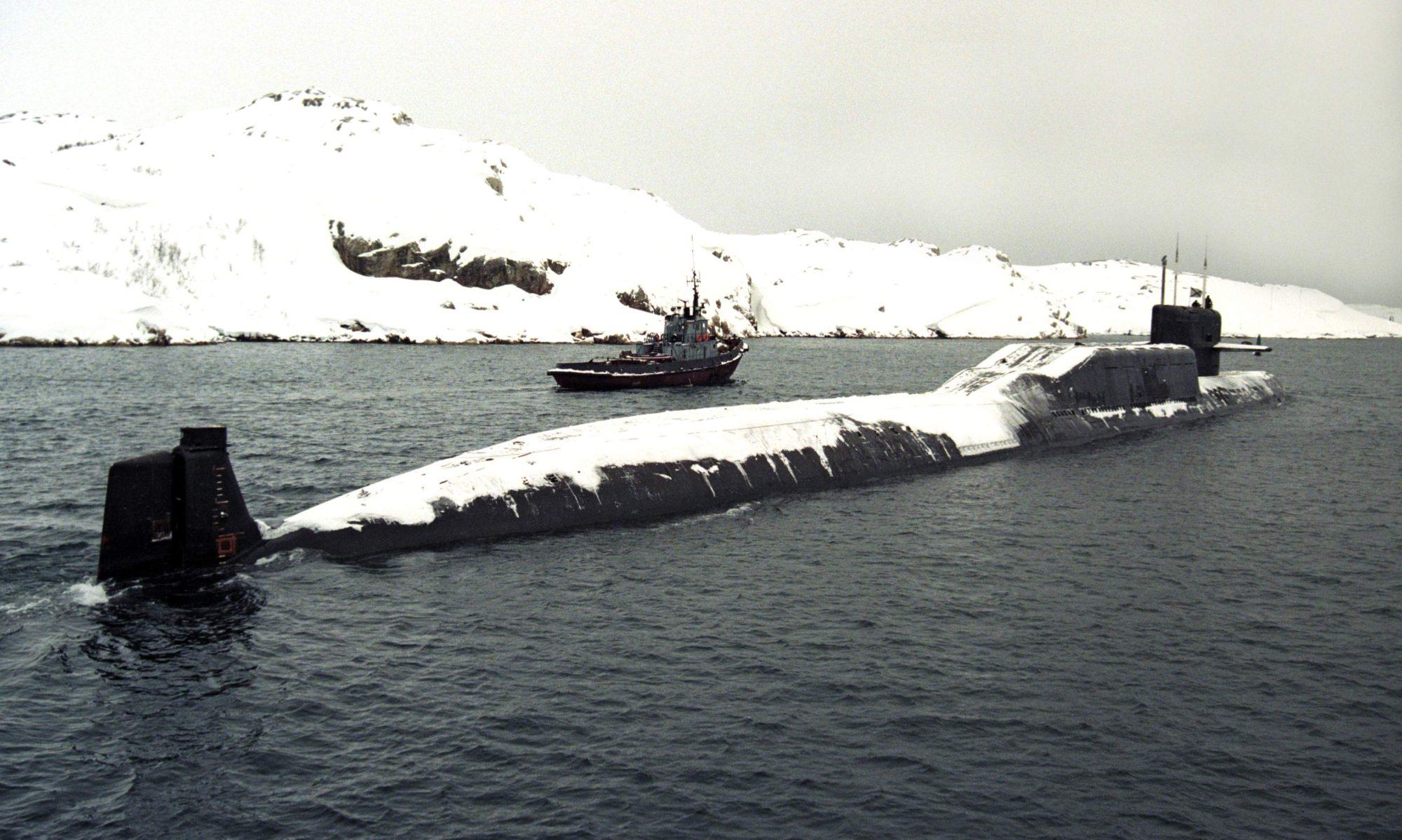 К-447 Северный флот